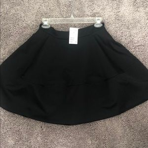 H&M satin skater skirt